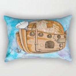Nave : viagem no tempo Rectangular Pillow