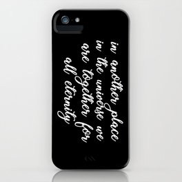 In another place iPhone Case