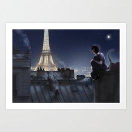 : THEO : Art Print