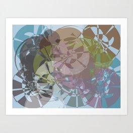 whirlygig Art Print