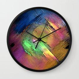 Rainbow Detour Wall Clock