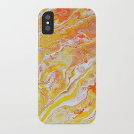 Summer Abstract #3 iPhone Case