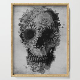 Skull 2 / BW Serving Tray