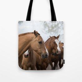 Estancia Horses Tote Bag