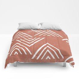 The Mountain Top - Rust Comforters