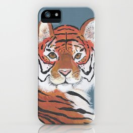 Luca's Tiger iPhone Case