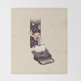Beyond Your Imagination Throw Blanket