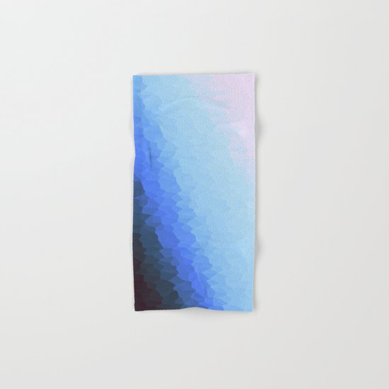 Blue Ombre Hand & Bath Towel