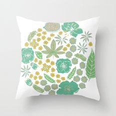 Floral Bloom  Throw Pillow