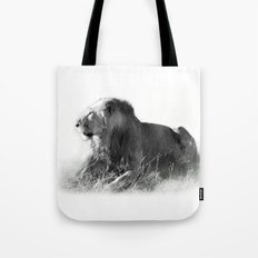 Lion in the Sunshine Tote Bag