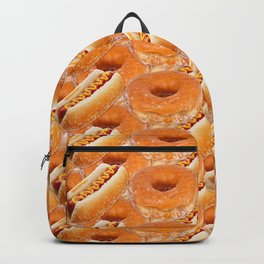 Hot Dogs and Donuts Backpack