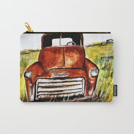 Rusted Farm Truck Carry-All Pouch