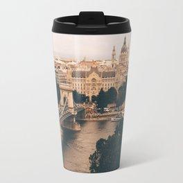 The moods of Budapest Travel Mug
