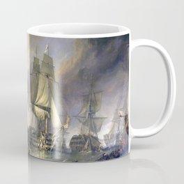 The Battle of Trafalgar Coffee Mug