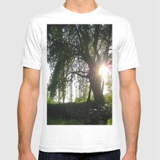 I'd Rather Be... MEDIUM White Mens Fitted Tee