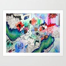 Upload Art Print