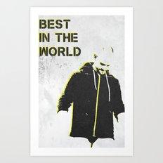 B.I.T.W. Art Print