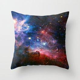 Carnia Nebula Throw Pillow