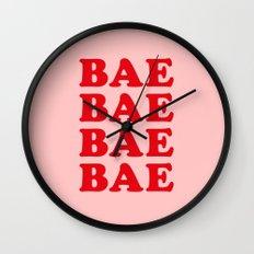 Bae Bae Bae Wall Clock