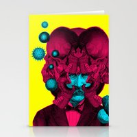 predator Stationery Cards featuring PREDATOR by DIVIDUS