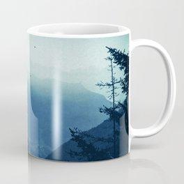 Blue Valmalenco - Misty Blue Mountains Coffee Mug