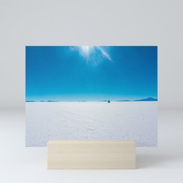 In the Distance, Salar de Uyuni, Bolivia Salt Flats Mini Art Print