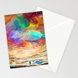 Surrounded Stationery Cards