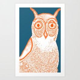 Owl Print Art Print