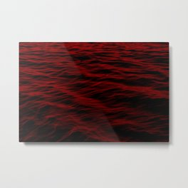 SEA OF BLOOD Metal Print