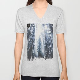 The mighty pines Unisex V-Neck