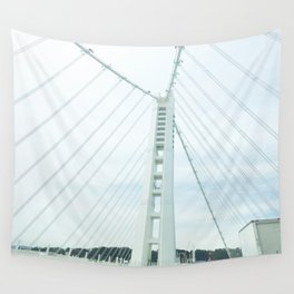 new bay bridge  Wall Tapestry
