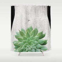A Succulent Woman Shower Curtain