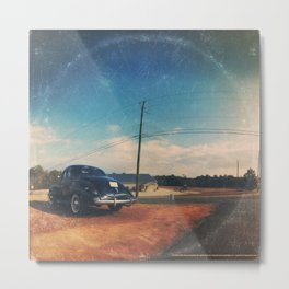 Roadside Classic - America As Vintage Album Art Metal Print