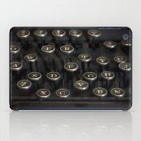 typewriter iPad Cases featuring Typewriter by JessicaShoots