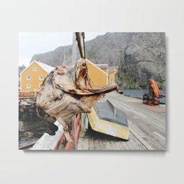 It's What's For Dinner / Norway Metal Print