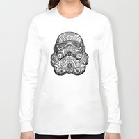 trooper Long Sleeve T-shirts featuring Trooper by Patricio Sebastian Pomies