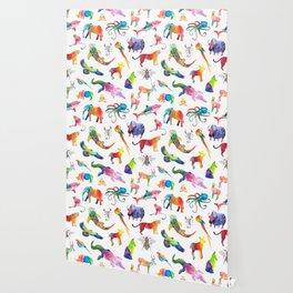 Technicolor Animal Kingdom Wallpaper
