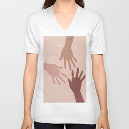 Love Is A Superpower Unisex V-Neck