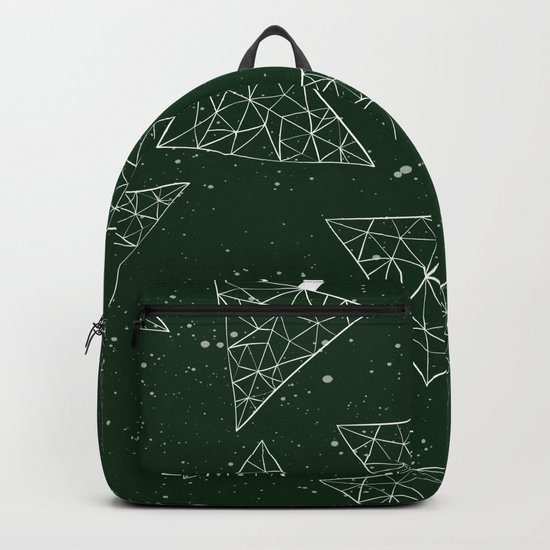 Christmas Trees Green Backpack