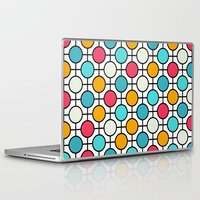 polka dots Laptop & iPad Skins featuring Polka Dots by Dizzy Moments
