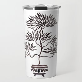 Bonsai Tree – Black Palette Travel Mug