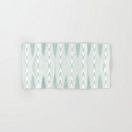 Velvety Striped Arch in Pastel Green Hand & Bath Towel