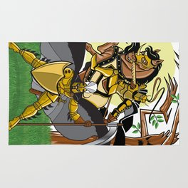 Golden Knights Rug