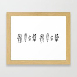 Anonymous - Egypt, Africa, China, Mexico Framed Art Print