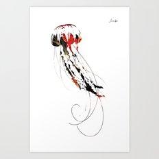 Méduse Jacob's 1968 Agency Paris Art Print