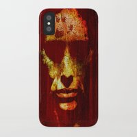 witch iPhone & iPod Cases featuring witch by Joe Ganech