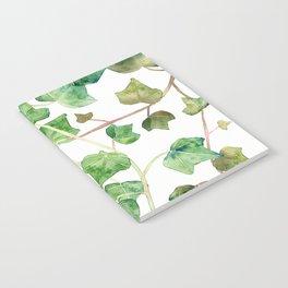 English Ivy Pattern Notebook