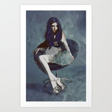 Ask Alice Art Print