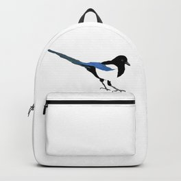 Magpie. One for sorrow, two for joy Backpack