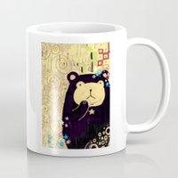 klimt Mugs featuring Dear Klimt by PLZ ACCESS ▶️ lita426t